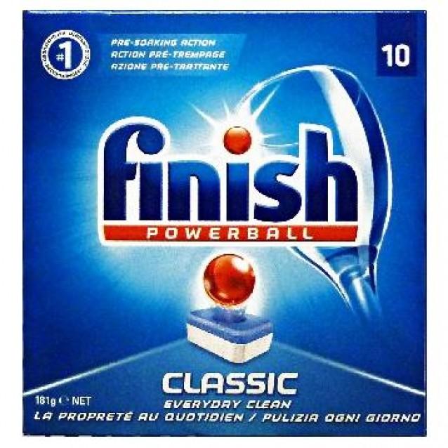 Finish capsule pentru masina de spalat vase Clasic 10 buc