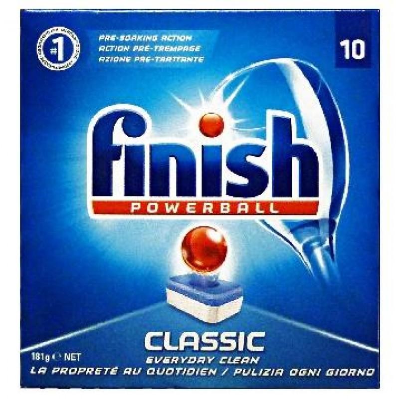 Capsule Finish pentru masina de spalat vase Clasic 10 buc