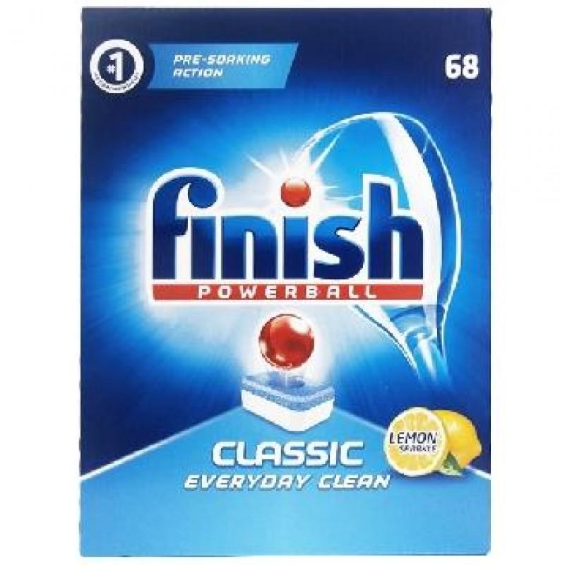 Capsule Finish pentru masina de spalat vase Clasic 68 buc