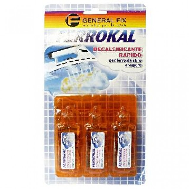 Decalcifiant pentru fierul de calcat cu aburi General Fix 3*20 ml