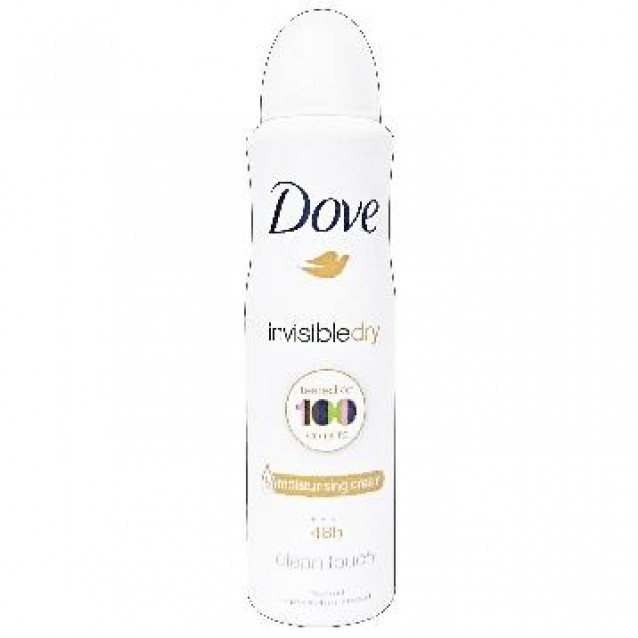 Deodorant Dove spray invizibil clean touch 150 ml