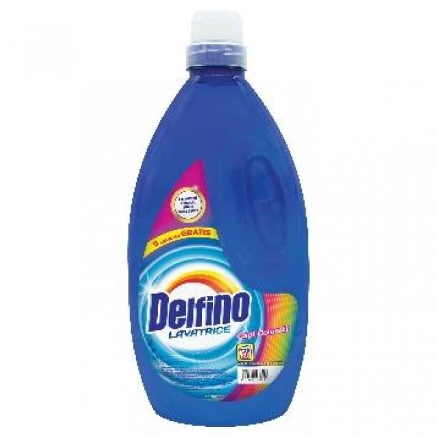 Detergent rufe colorate Delfino 38 spalari