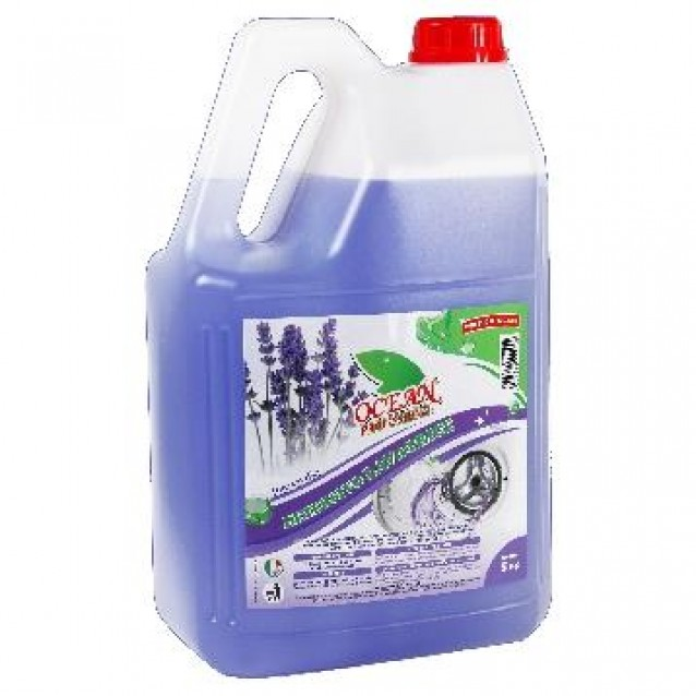 Detergent rufe cu lavanda Ocean profesional 5 L