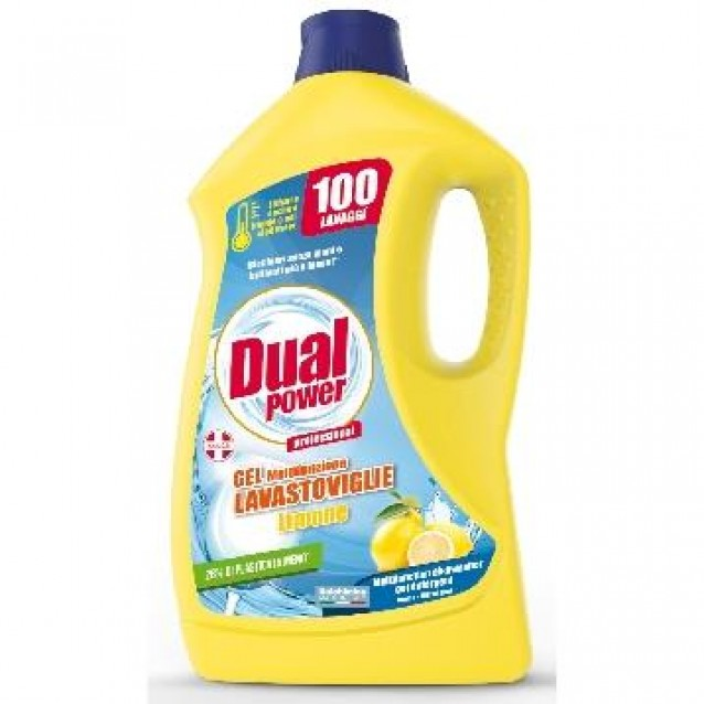Dual power gel detergent pentru masina de vase 2 L