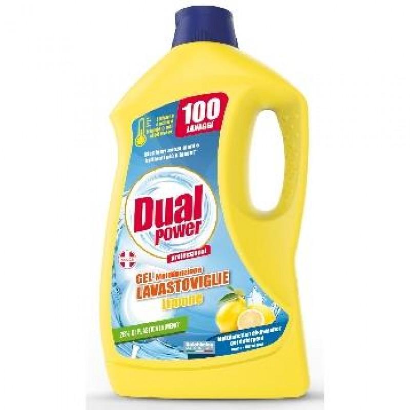 Gel detergent pentru masina de vase Dual Power 2 L