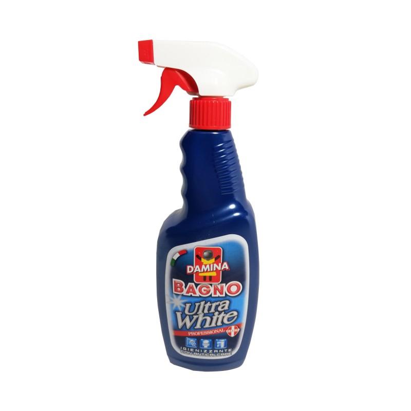 Solutie pentru curatat baia igienizanta si anticalcar Damina 750 ml