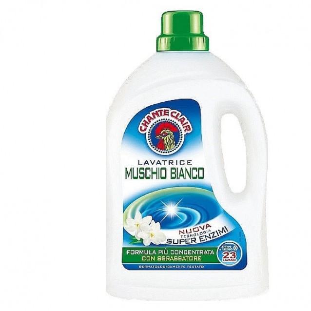 Detergent lichid musc alb Chante Clair 23 spalari