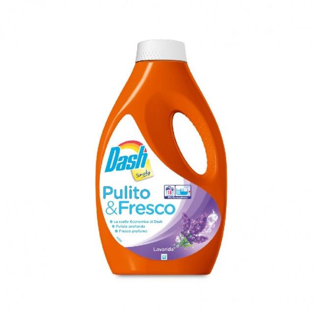 Dash Simply detergent lichid lavanda 18 sp 990ml