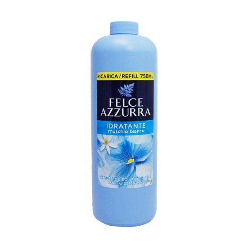 Sapun lichid Felce Azzurra musc alb 750 ml
