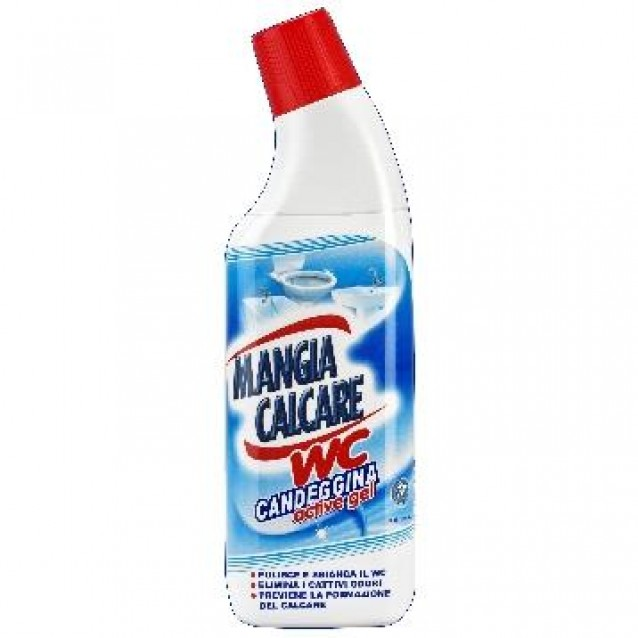 Mangia calcare gel WC cu clor 750 ml