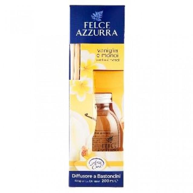 Odorizant de camera cu betisoare Felce Azzurra 200 ml vanilie