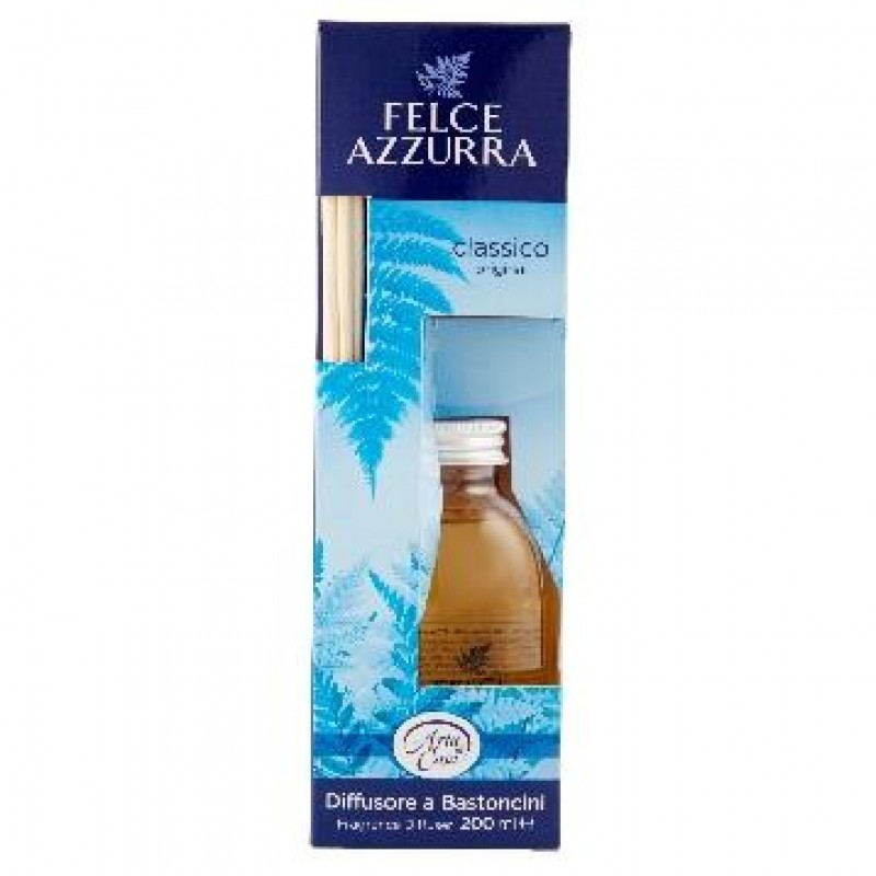 Odorizant de camera cu betisoare Felce Azzurra 200 ml clasic