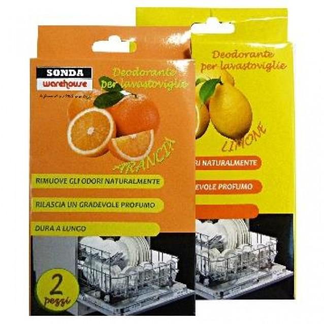 Sonda Odorizant pentru masina de spalat vase portocale/lamaie 2 buc