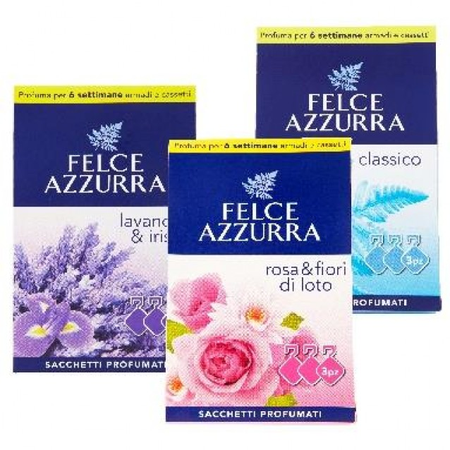 Felce azzurra saculeti parfumati 3 buc clasic