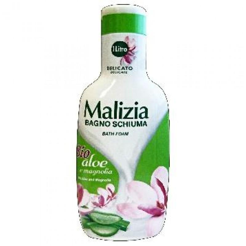 Malizia spuma de baie cu aloe si magnolie 1L