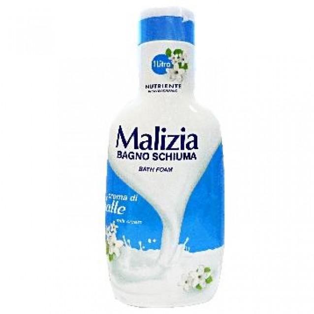 Malizia spuma de baie cu lapte 1L