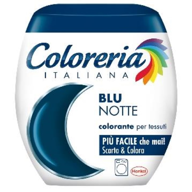 Coloreria vopsea pentru tesaturi blu notte 350 g