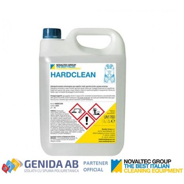 Novaltec detergent alcalin fara spuma, pentru suprafete foarte murdare - 5 L