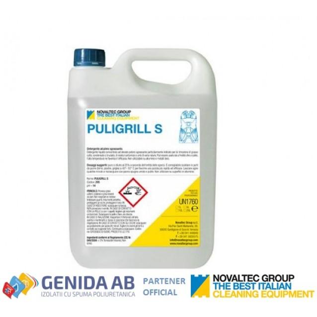 Detergent degresant Alcalin pentru cuptor si grill Novaltec - Puligrill S 10 L
