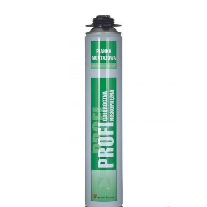 Spuma de montaj profesionala Profi Polychem Sistems 750 g P
