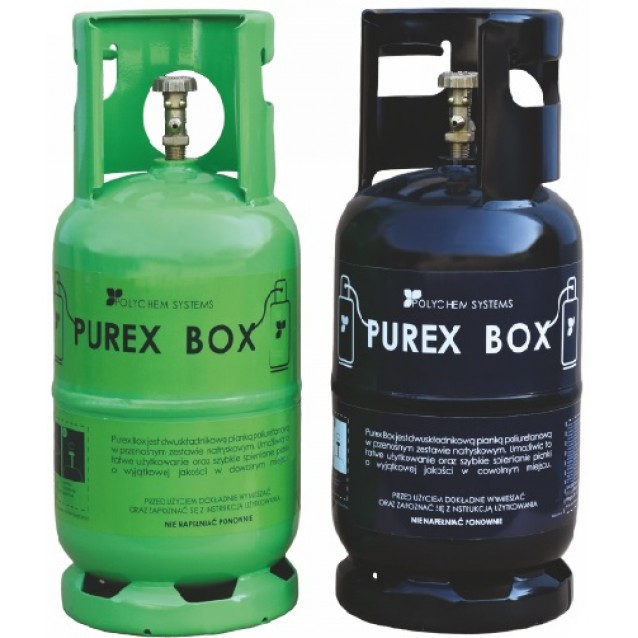 Set spuma poliuretanica Pure Box Pro A si B