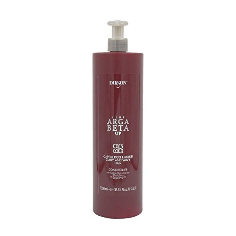Balsam profesional Arga Beta UP pentru par cret cu elastina, ulei de palmier, ulei de argan, Dikson 1000 ml