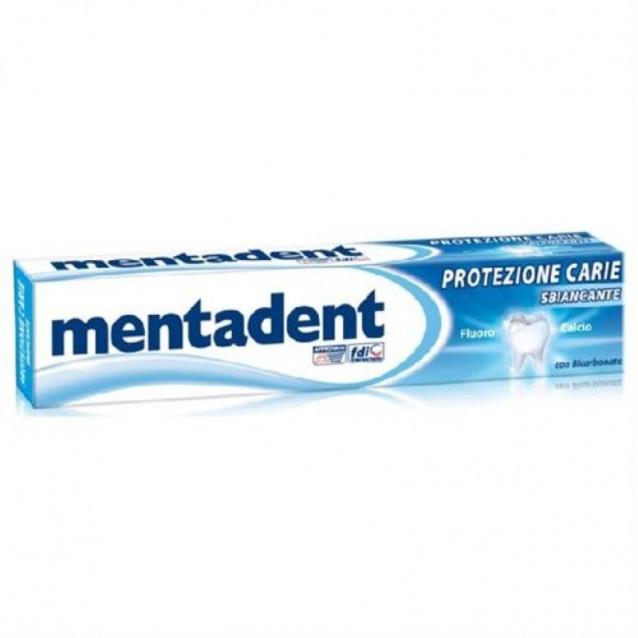 Mentadent pasta de dinti albire si anticarie 75 ml