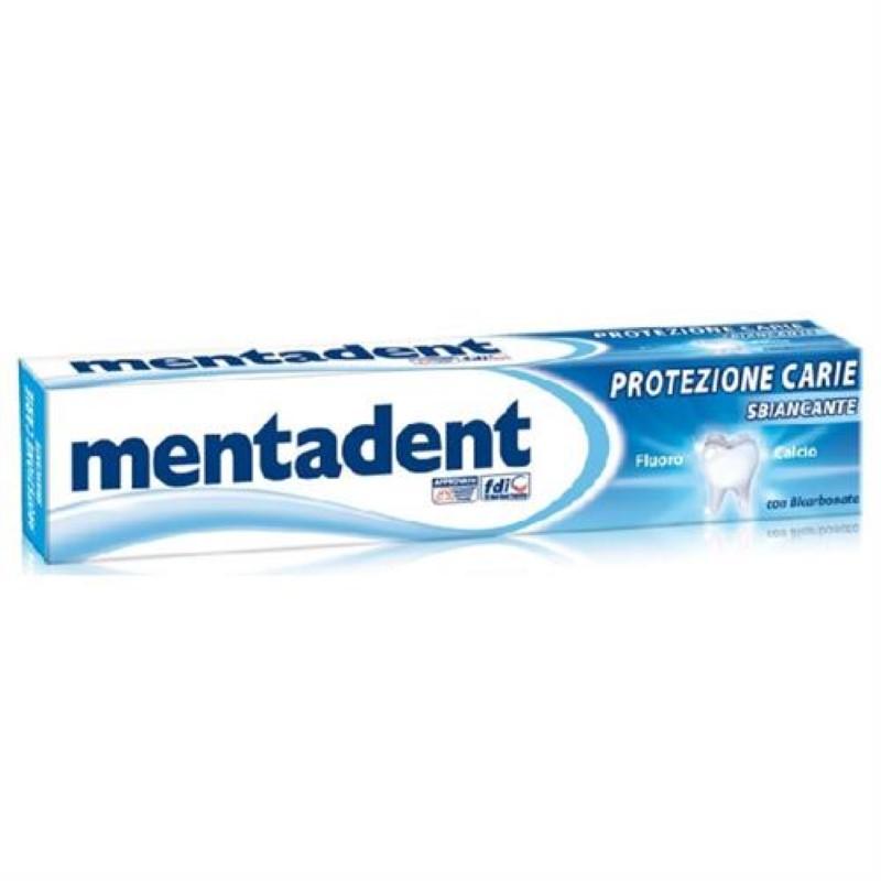 Pasta de dinti Mentadent albire si anticarie 75 ml