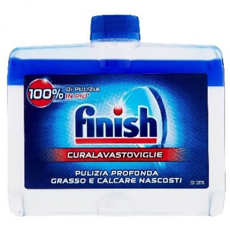 Solutie anticalcar degresanta Finish pentru masina de spalat vase 250 ml
