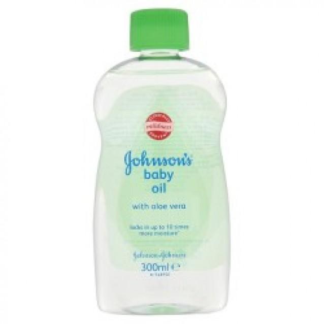 Johnson's baby ulei pentru corp cu aloe vera 300 ml