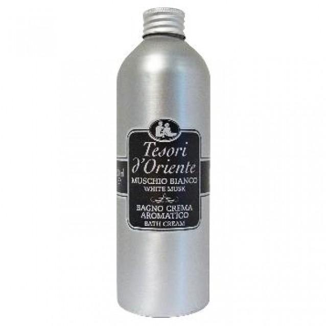 Gel de dus crema cu musc alb Tesori 500 ml