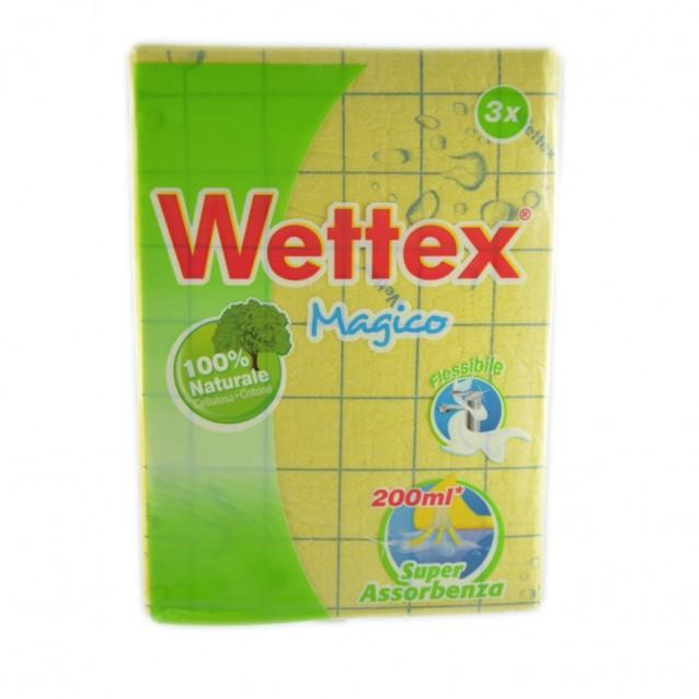 Wettex laveta magica 100% naturala 3 buc