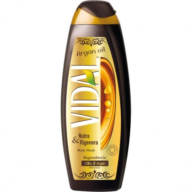 Gel de dus Vidal cu argan 500 ml