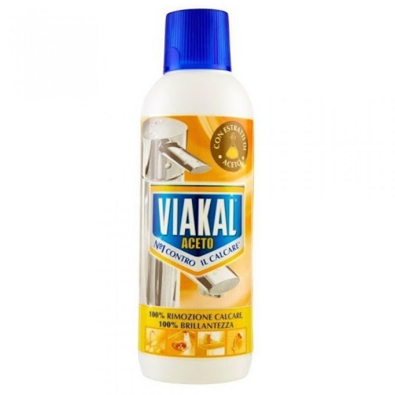 Anticalcar Viakal cu otet solutie 500 ml