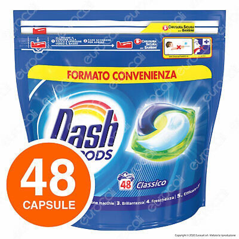 Dash detergent pernute clasic 3in1 48 buc