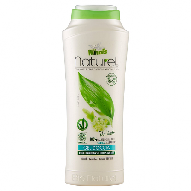 Winni's Naturel gel de dus hipoalergenic Ceai Verde 250 ml