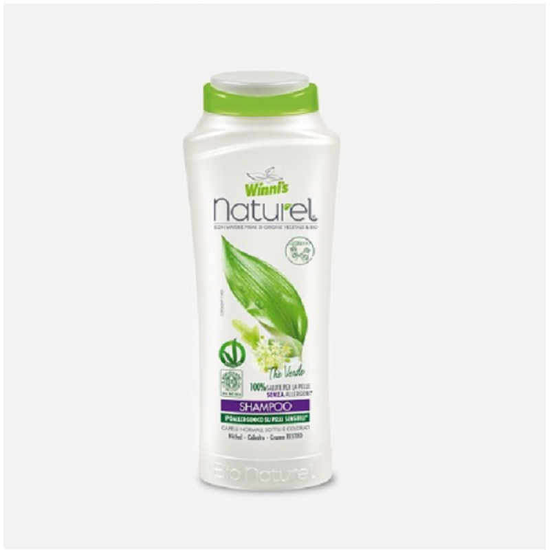 Winni's Naturel sampon hipoalergenic Ceai Verde 250 ml