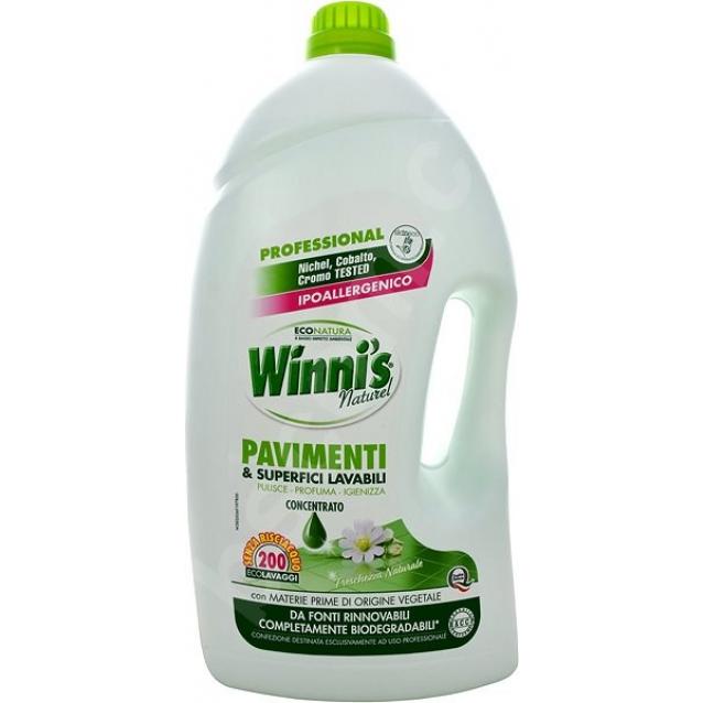 Winni's Eco detergent pavimente hipoalergenic prospetime naturala 5L