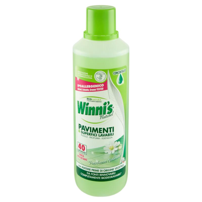 Winni's Eco detergent pavimente igienizant aloe 1L