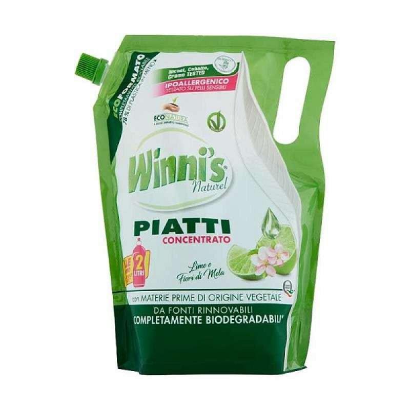 Winni's Eco detergent vase concentrat flori de mar & lime 1L