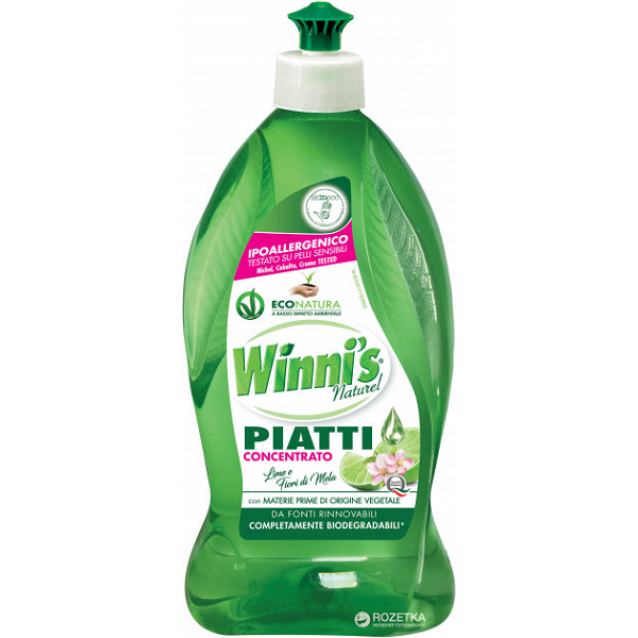 Winni's Eco detergent vase concentrat flori de mar & lime 500 ml