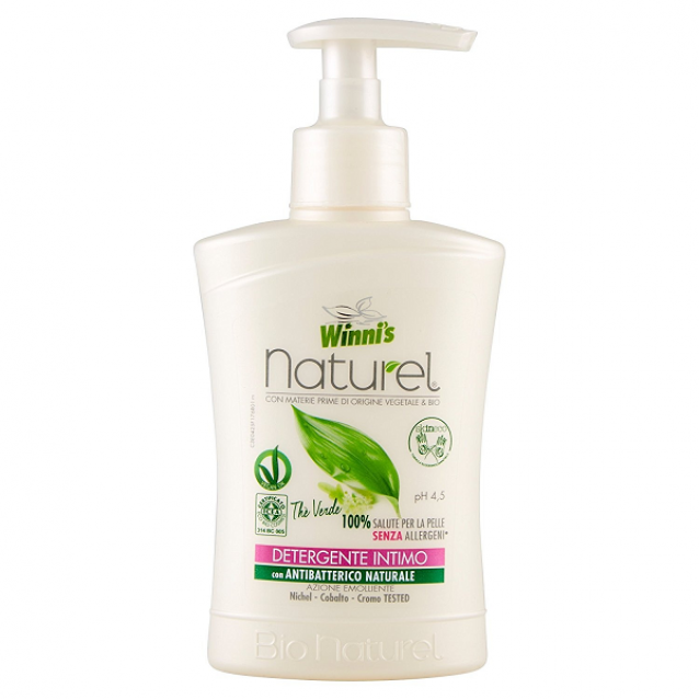 Winni's Naturel sapun intim antibacterian Ceai Verde 250 ml